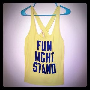 """Fun Night Stand"" Sporty Pajama Top"